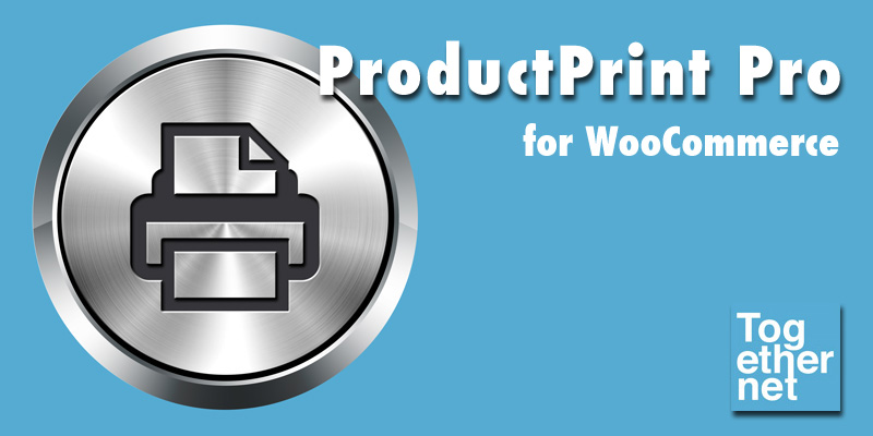 ProductPrint Pro WooCommerce extension